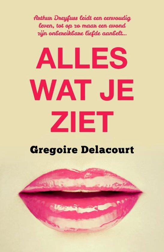 Grégoire Delacourt Alles wat je ziet