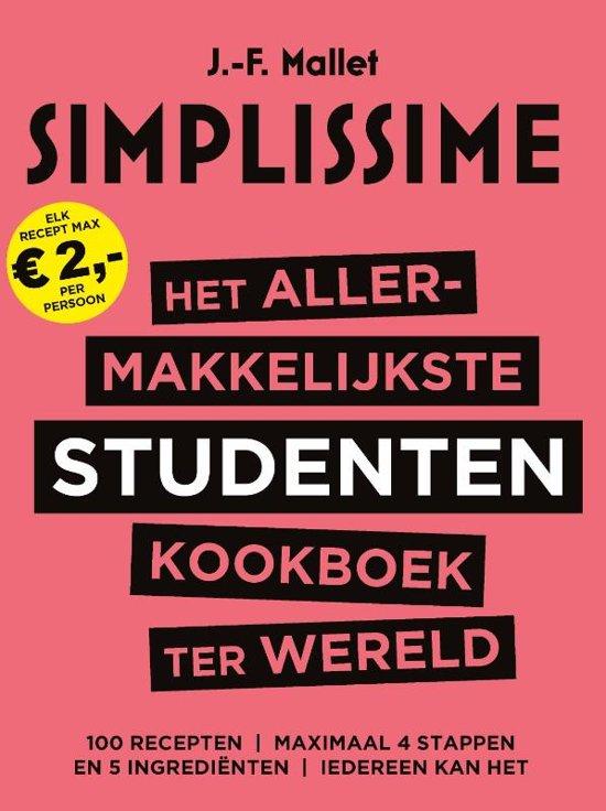 Jean-François Mallet Het allermakkelijkste studentenkookboek ter wereld