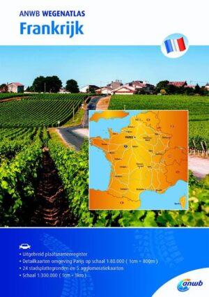 ANWB wegenatlas – Frankrijk