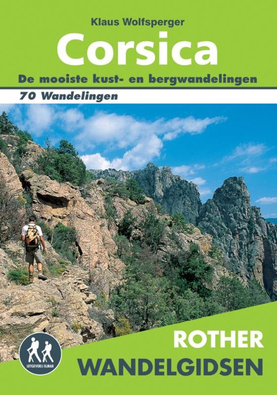 Klaus Wolfsperger - Rother Wandelgidsen - Corsica