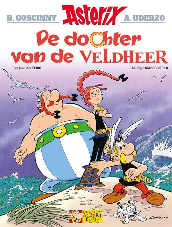 Stripverhaal - Didier Conrad Asterix 38 De Dochter Van De Veldheer