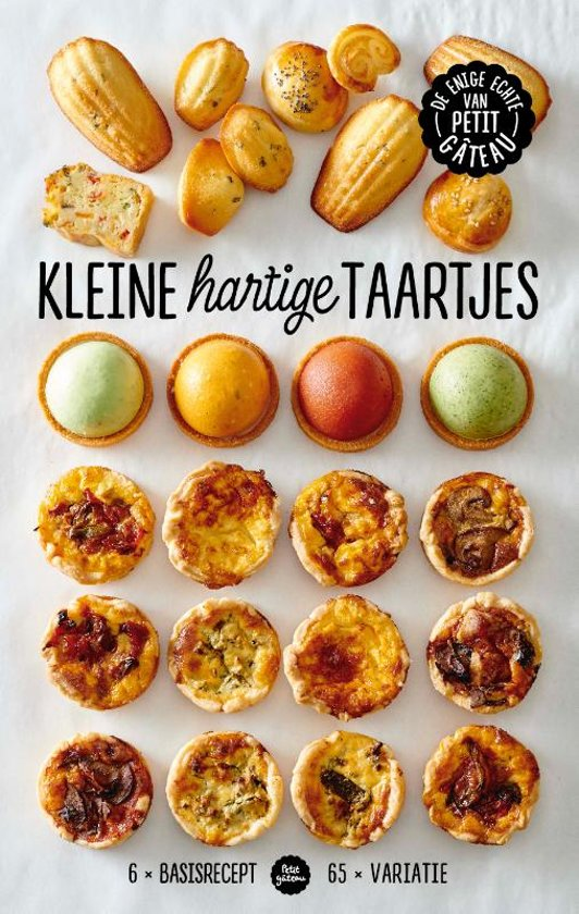 Boek Meike Schaling - Kleine hartige taartjes