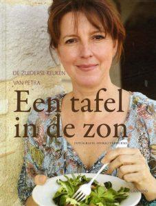 Kookboek Petra Vandewouer - Een tafel in de zon