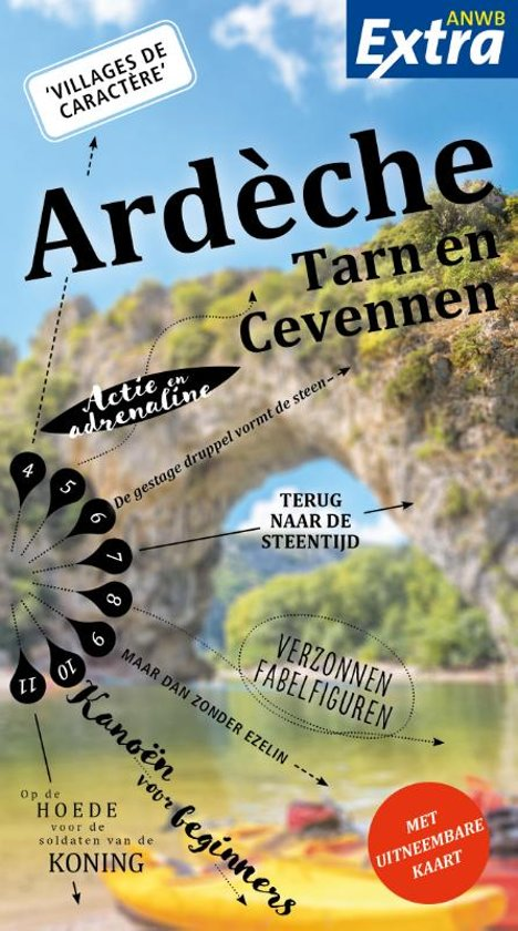 ANWB Extra – Ardeche Tarn Cevennen