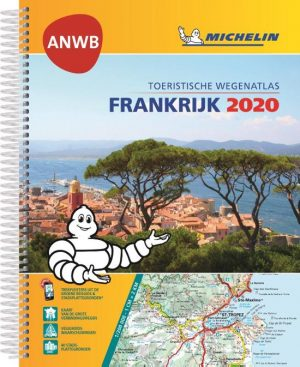 ATLAS MICHELIN ANWB FRANKRIJK 2020