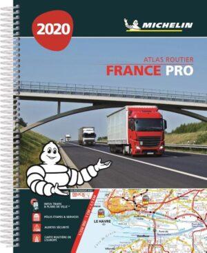 ATLAS MICHELIN FRANKRIJK 2020 PRO